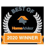 Home Advisor Best of 2020 Winner